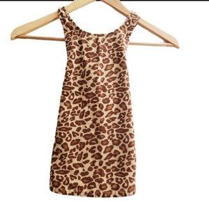Gymboree Animal Cheetah Print Girl's Dress 12-18 M